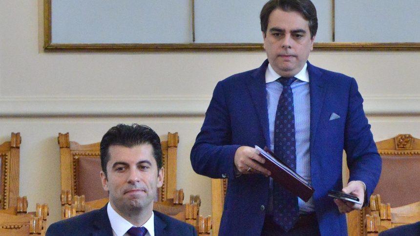 Политическото напрежение: Кирил Петков и Асен Василев представят проекта си в неделя
