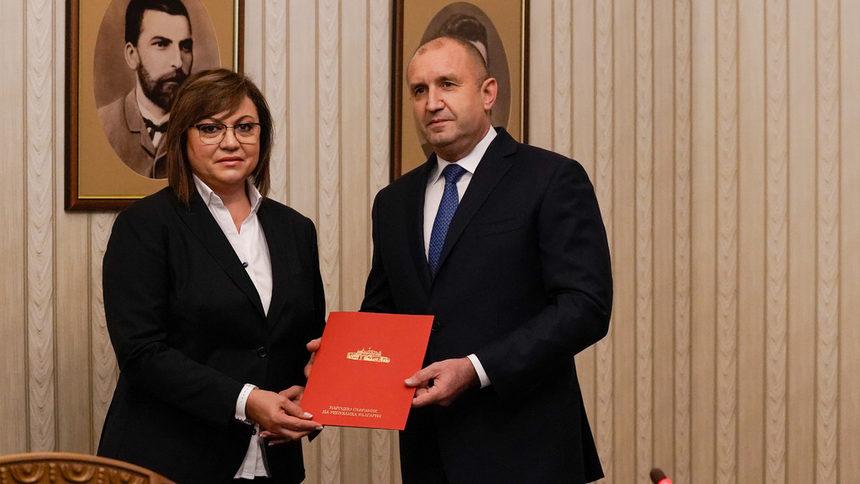 Неродената партия на Петков разклати подкрепата на Нинова за Радев за президентския вот