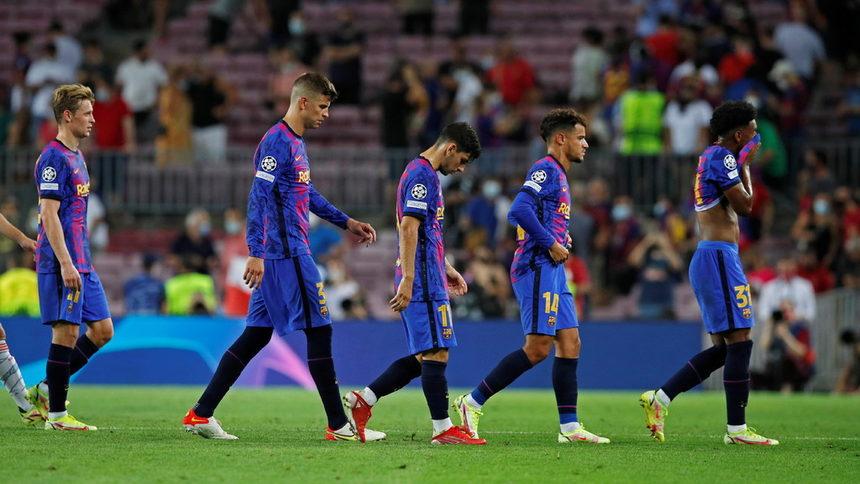 """""""Барселона"""" отчете загуба от 481 милиона евро"""